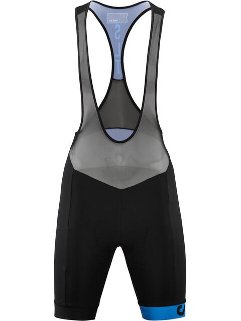 Cube SLT Trägerhose kurz Damen black'n'blue